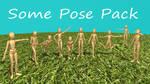 [MMD Pose DL] Some Pose Pack
