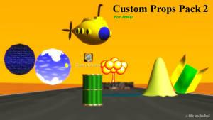 [MMD DL] Custom Props Pack 2