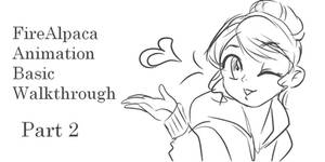 FireAlpaca Animation Tutorial Part 2 of 5
