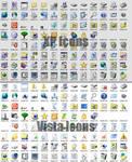 Windows XP and Vista Icons