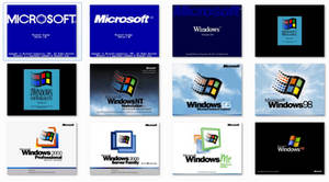 Classic Windows Boot Screens for Windows 7