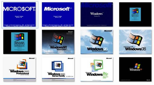Classic Windows Boot Screens for Windows 7 by xulfikar