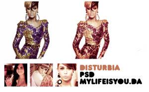 Disturbia PSD. by Mylifeisyou