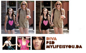 Diva PSD. by Mylifeisyou