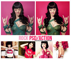 Rock PSD. by Mylifeisyou
