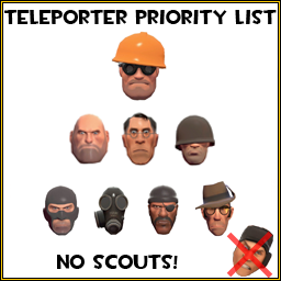 TF2 Spray Teleporter Priority by MindWav3
