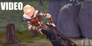 Toothless Vore Astrid - [How To Train Your Dragon]