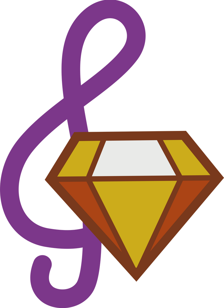 Adagio Dazzle 39 S Cutie Mark By 90sigma On Deviantart
