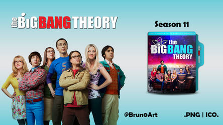 The Big Bang Theory Season 11 Folder Icon