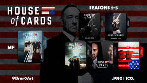 House of Cards Folder Icon Collection