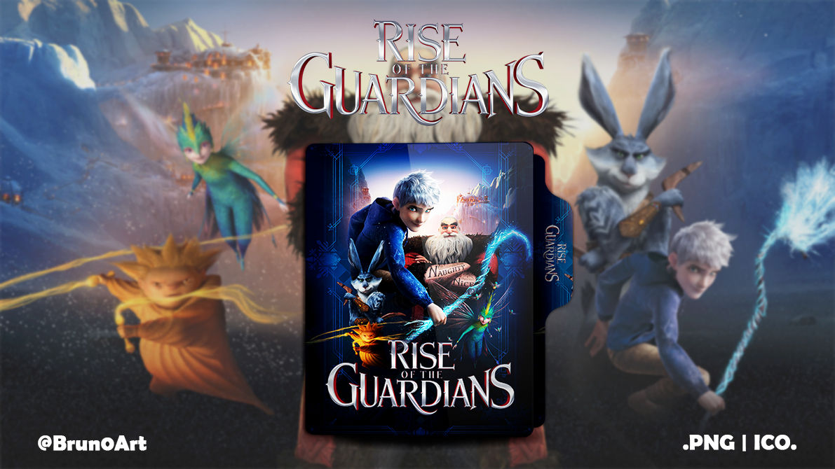 Rise Of The Guardians 2012 Folder Icon By Brun0art On Deviantart