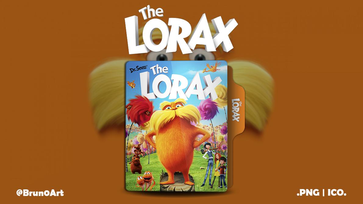 The Lorax 2012 Folder Icon By Brun0art By Brun0art On Deviantart