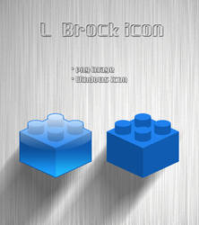 'L' block icon