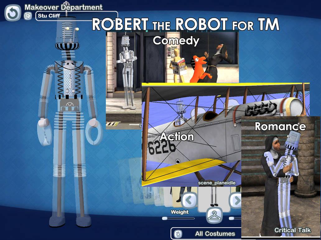 Robert the robot by MikeDBoing