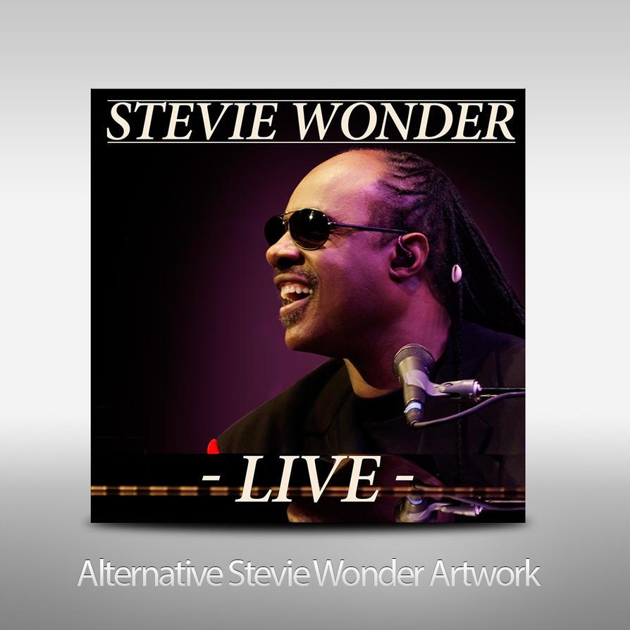 stevie wonder live album artwork by tarrowsmith on deviantart. Black Bedroom Furniture Sets. Home Design Ideas