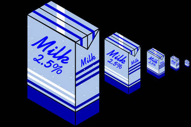 Milk Icons by NePosas