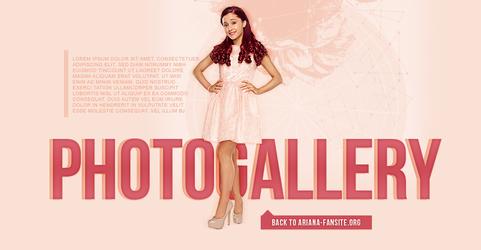 Free Ariana Grande Header