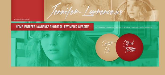 Jennifer Lawrence Main Site Header PSD