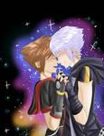 Kingdom Hearts- Rewrite the Stars [SoRiku] GIF