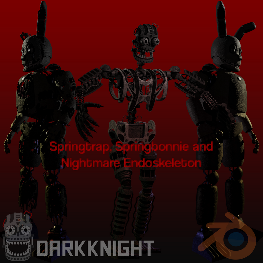 Springtrap, Springbon And Nightmare Endo Release By