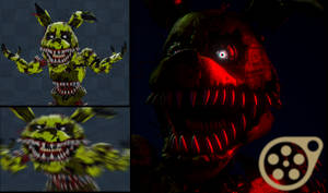 SFM | Nightmare Springtrap | YourOgrelord by Tyrexchip