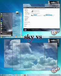 Sky vs for Windows 7 by oliver182