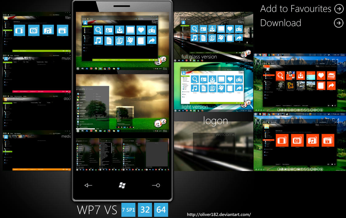 WP7 Mango VS by oliver182