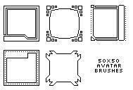 PSP Brush - Avatar Templates by Atazoth