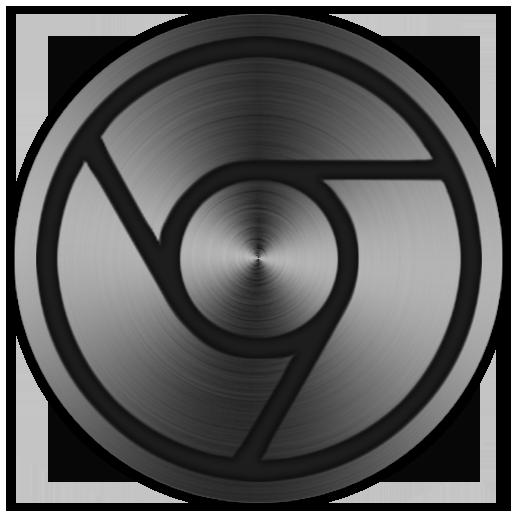 Metallic Google Chrome Icon (ICO, PNG) by micahpkay