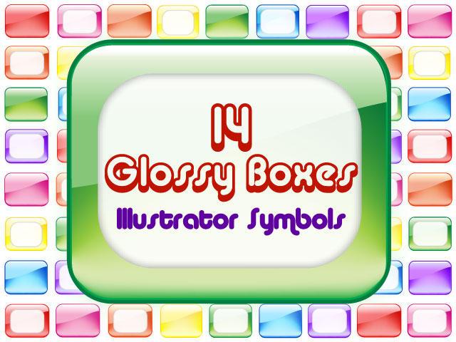 14 Glossy boxes by Anya82