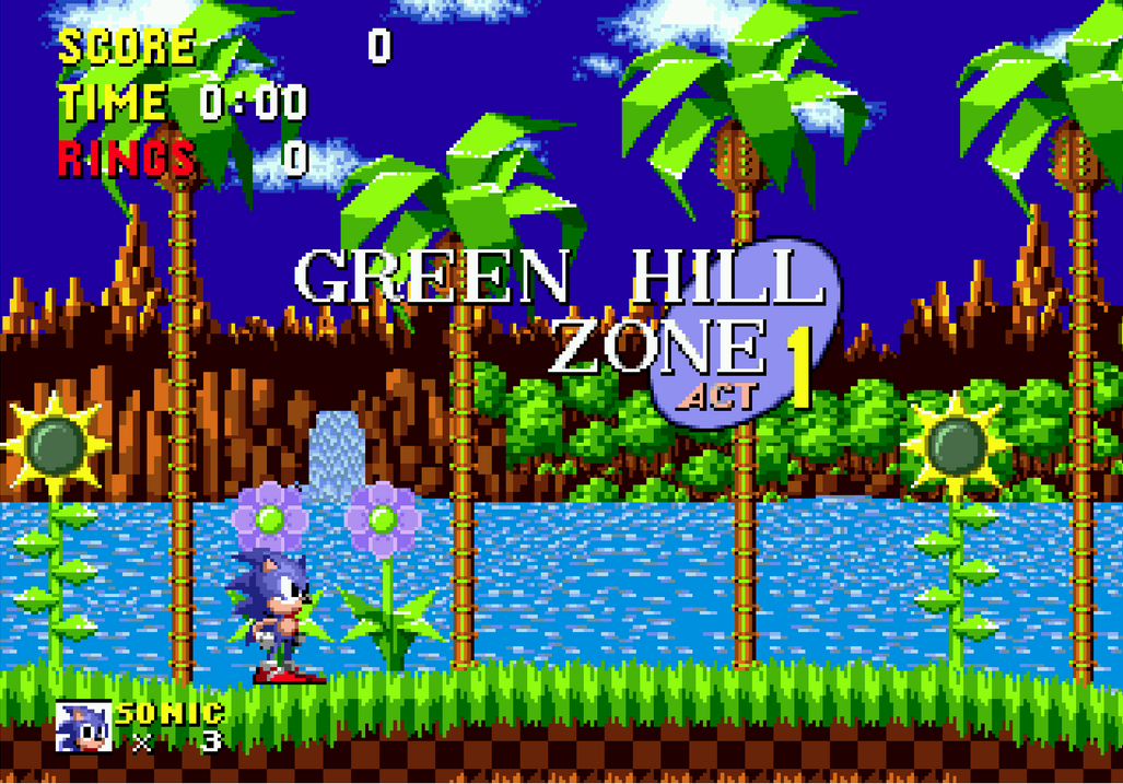 Bb Episode Part 1 Sonic 1 Green Hill Zone By