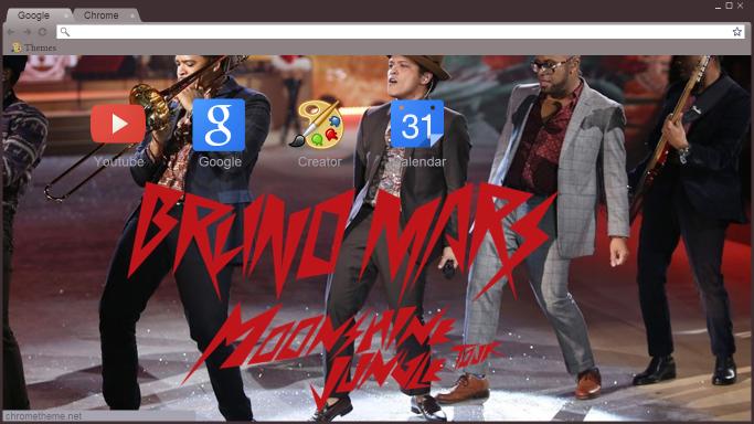 Bruno Mars's Google Theme By CamiiEG On DeviantArt