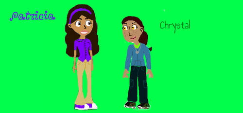 Patricia and Chrystal