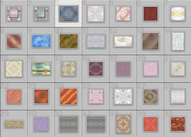 Tile-able Background Patterns by Pennes-from-Heaven