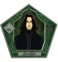 Snape magic card