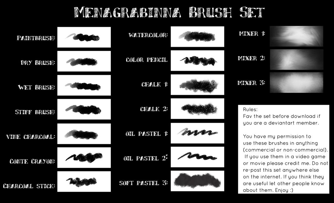 Menagrabinna Brush Set 1