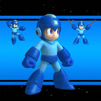 SSB4 Mega Man XPS download by Chaotixninjax