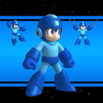 SSB4 Mega Man XPS download