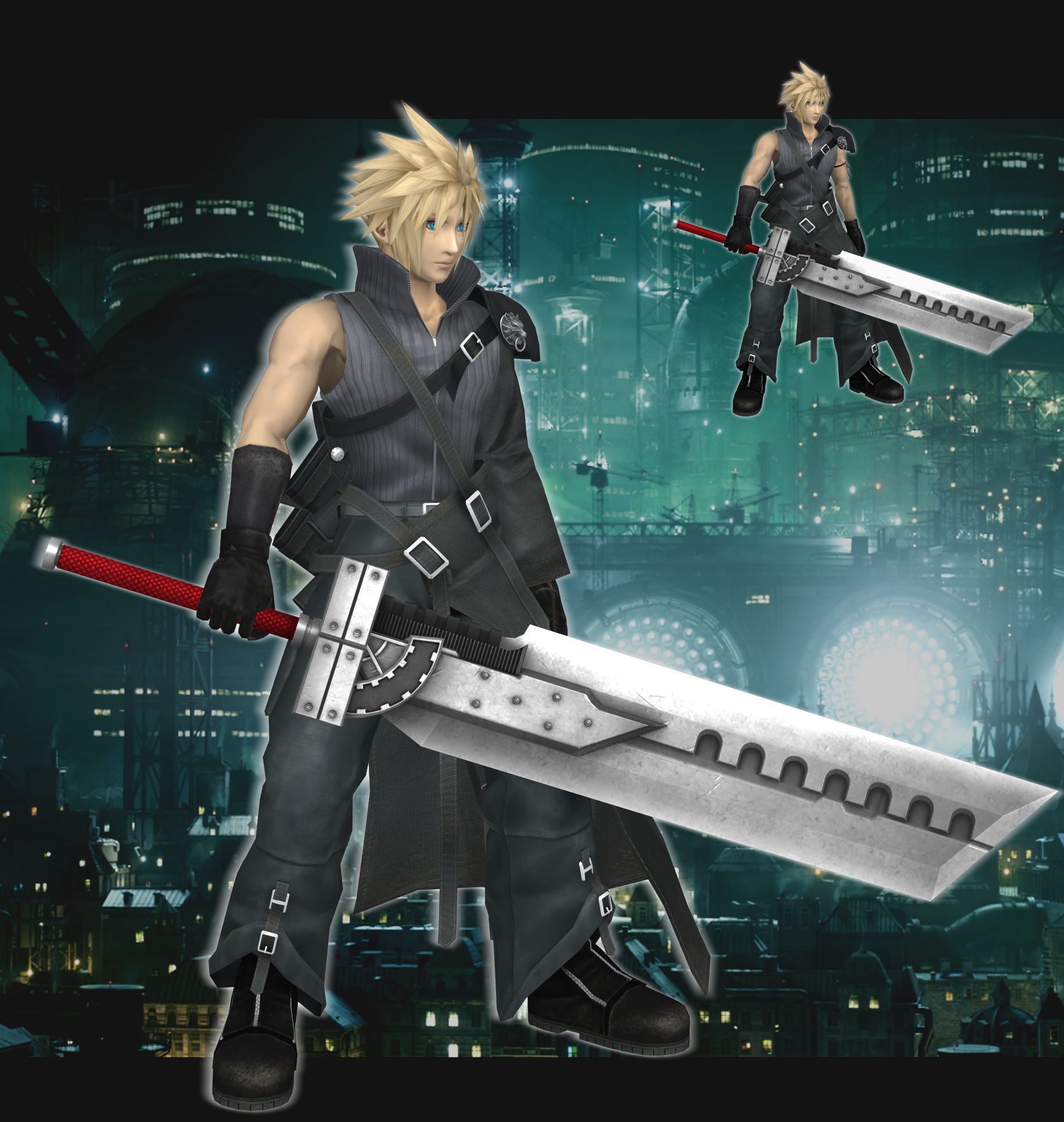 SSB4 Cloud (Alt) XPS download by Chaotixninjax