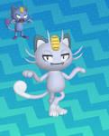 Pokemon Alolan Meowth XPS Download