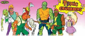 Cartoon Series Review Toxic Crusaders