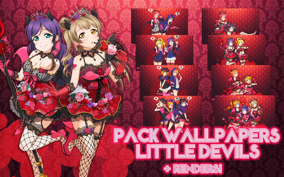 Pack Love Live Wallpapers Little Devils by MayMugiLee on ...