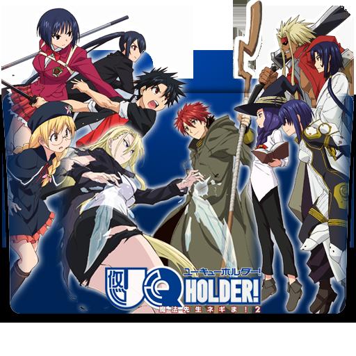 Uq Holder Mahou Sensei Negima 2 Icon Folder By Kazutto On Deviantart