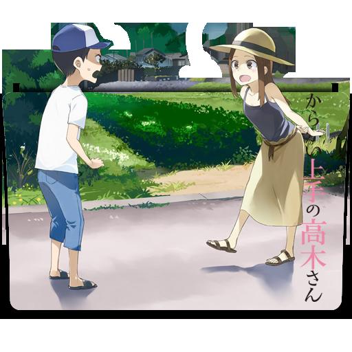 """Képtalálat a következőre: """"Karakai Jouzu no Takagi-san ico"""""""