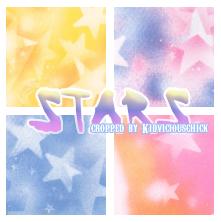 Stars Texture Set by k1dvic10u5