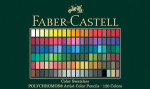 Faber-Castell Polychromos Color Swatches