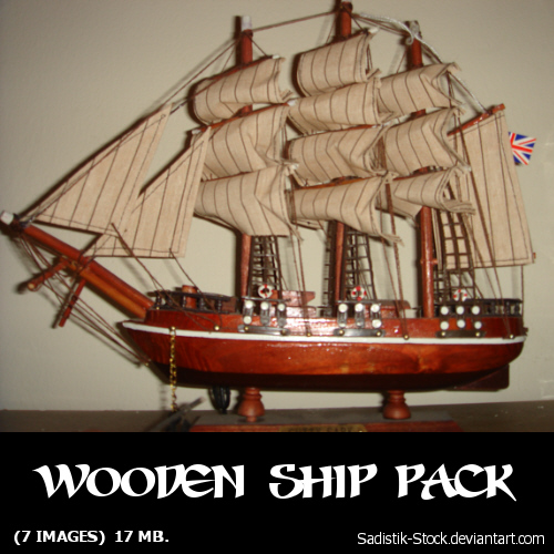 Wooden Ship Pack by sadistik-stock