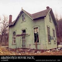 Abandoned House Pack by sadistik-stock