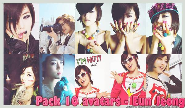 Eun Jeong T-ara 10 avatars 140*200