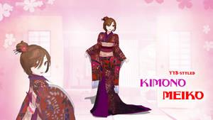 YYB Kimono Meiko